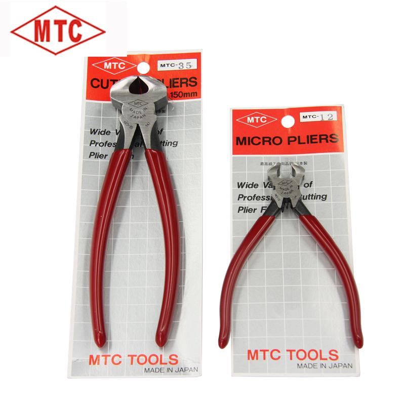 【Япония MTC】 в оригинальной упаковке Импортированный клиппинг Щелкунчик Выталкивающий гвоздь Концевые плоскогубцы MTC-12 35