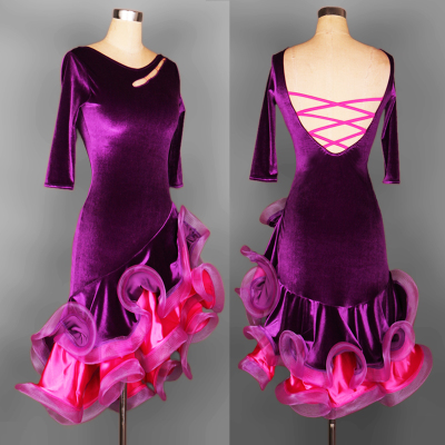Latin Dance Costume Latin dance dress for women to customize professional Latin dance competition dress Latin Dance Dress