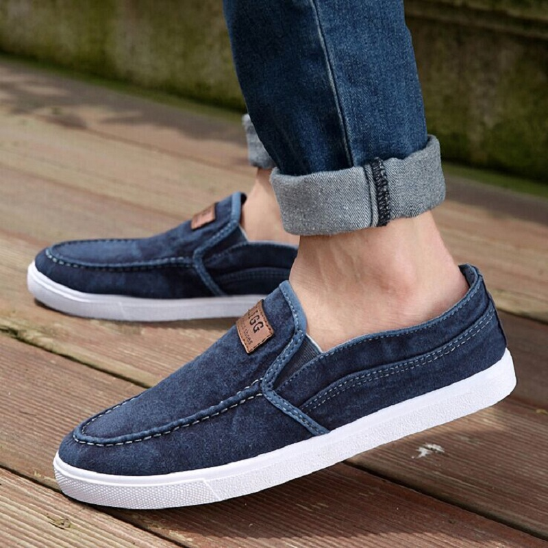 春季韩版透气男士帆布鞋男板鞋男款布鞋休闲鞋老北京布鞋潮男单鞋