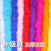 13 Color DIY Feather Strip Wholesale garment accessories cartoon Bouquet Packaging