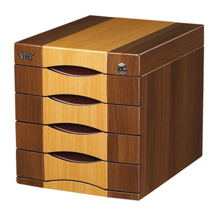 Wood file Cabinet desktop storage box file Cabinet splice Cabinet 4 layer drawer with lock  sc 1 st  English Taobao | Taobao Agent & USD 60.89] Wood file Cabinet desktop storage box file Cabinet splice ...
