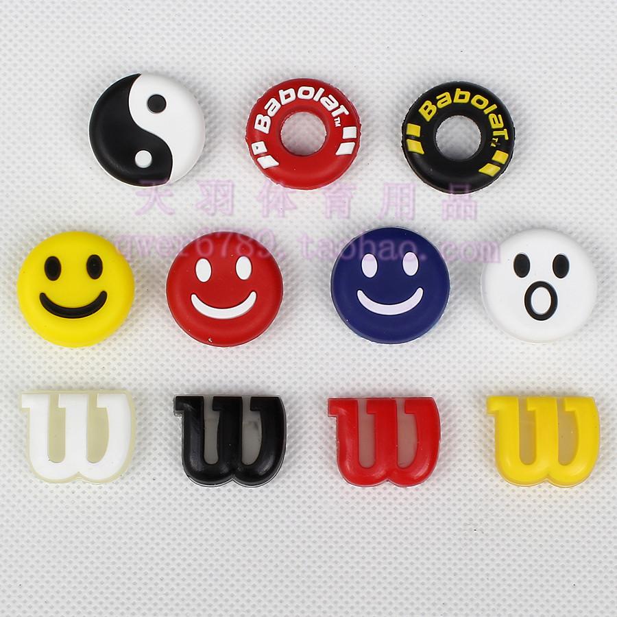 Теннис амортизаторы вставлять тип письмо улыбка тай-чи теннис бить амортизатор разнообразие цветов необязательный