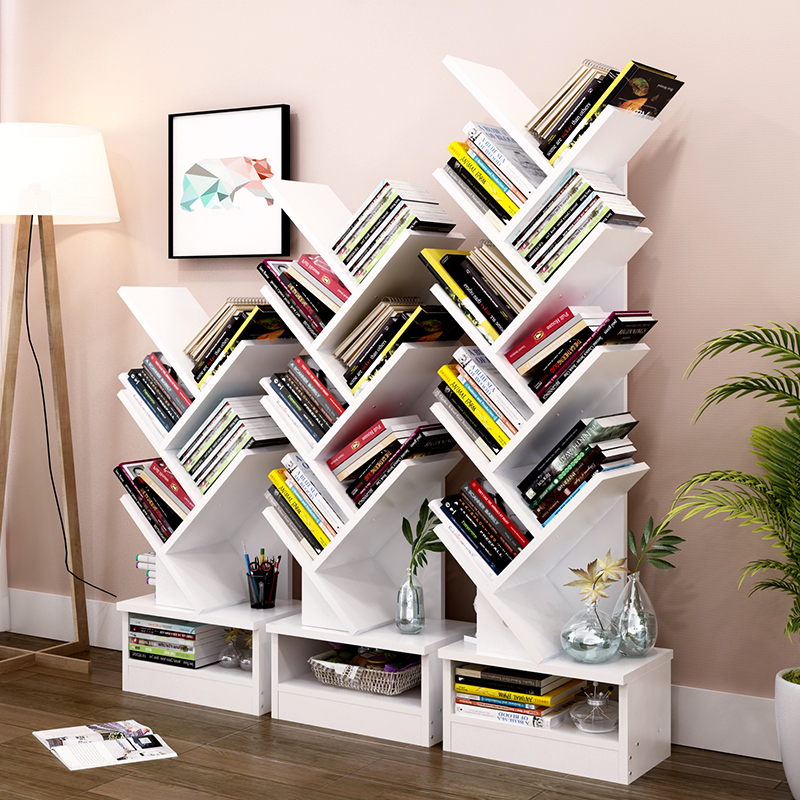 bamboo bookshelf double bookcase shelf mini rack desk singapore shop drawer small product student telescopic simple world desktop ezbuy storage