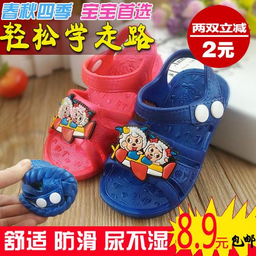 哈利宝贝童鞋1-3岁宝宝夏凉鞋软底学步鞋女童秋网鞋婴儿鞋子男童