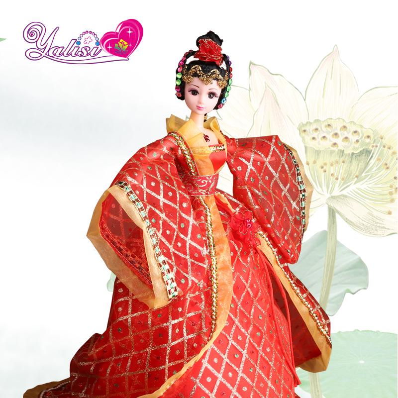 公主娃娃衣服芭比 全新正版可儿娃娃嫦娥仙子的古装裙子 9026