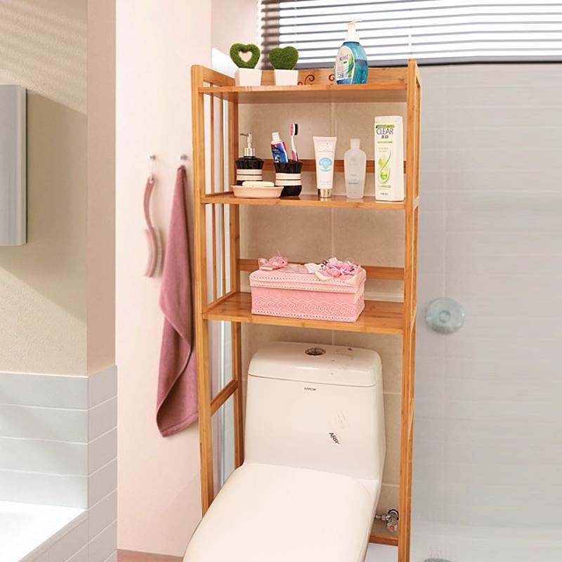 Special Toilet The Toilet Shelf Solid Wood Multi Layer Washbasin Shelf Corner  Storage Rack Of The Washing Machine Frame