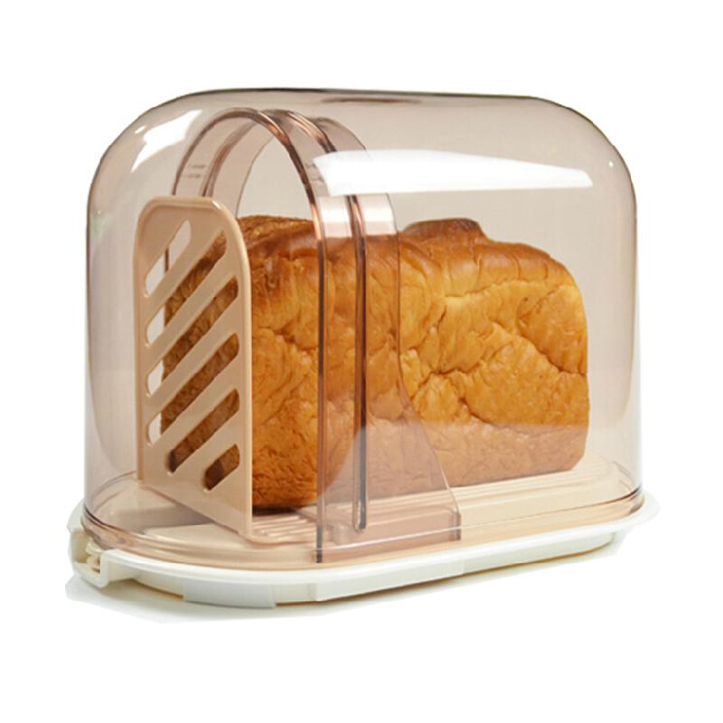 Merveilleux Japan Imported Bread Slicer Toast Cutting Bread Storage Box Cut Bread With  A Knife Bread Crisper