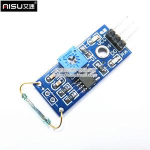 AISU干簧管传感器模块 磁控管模块 干簧管开关 磁控开关模块