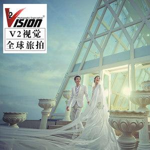 V2视觉三亚婚纱摄影西藏成都丽江大理苏梅岛婚纱照拍摄工作室团购