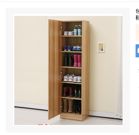 Simple And Modern Single Door Shoe Large Capacity Shoe Cabinet Two Three  Four Door Multi Layer Double Door Entrance Shoe Rack Shoe Cabinet