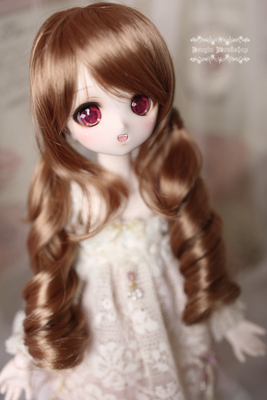 taobao agent Clearance!)PENGIN WORKSHOP BJD/SD Wig Double Ponytail MELODY FAIRY
