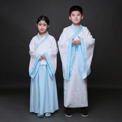Children's costumes, Hanfu, boys and girls, children's class, clothing, children's books, children's disciples, stage performances, schoolchildren Confucius