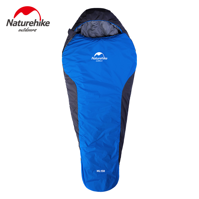 NH outdoor sleeping bag ultra light travel autumn and winter warm camping sleeping bag adult can be stitched double mummy sleeping bag