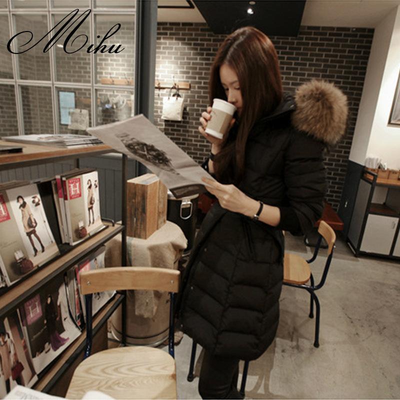 棋格梵品牌2015新款冬装韩版学生yrf加厚a字版少女羽绒服女中长款