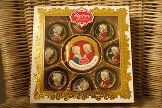 Package German original imported food snack Mozart chocolate gift box friend birthday gift high-end gift
