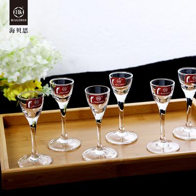 无铅水晶玻璃10毫升白酒杯家用套装