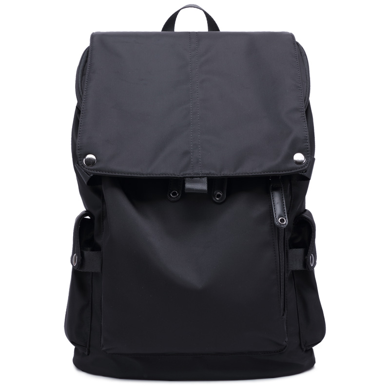 双肩包男韩版潮休闲背包尼龙帆布大容量旅行包大中学生书包电脑包