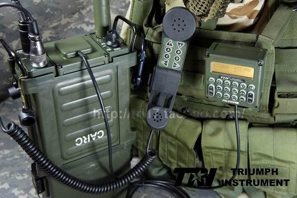 TRI instrument PRC-117G multi-function dual-band FM radio station (knapsack  car base) nouveau riche edition