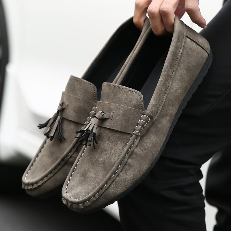 潮流时尚男士韩版休闲 豆豆鞋