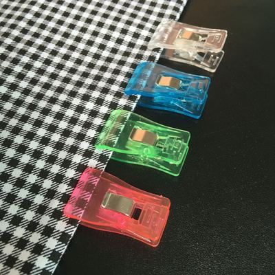 taobao agent 【2 edging fixing clips】bjd baby clothes ob11 shoes bag positioning strong clip transparent plastic clip