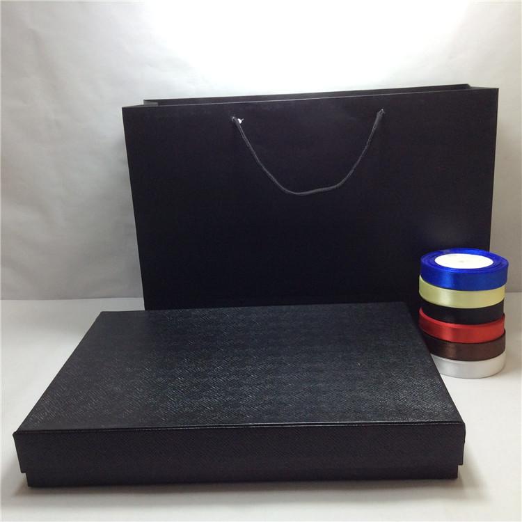 高档超大号礼服旗袍西装礼品盒长方形商务 丝巾围巾包装礼物定做