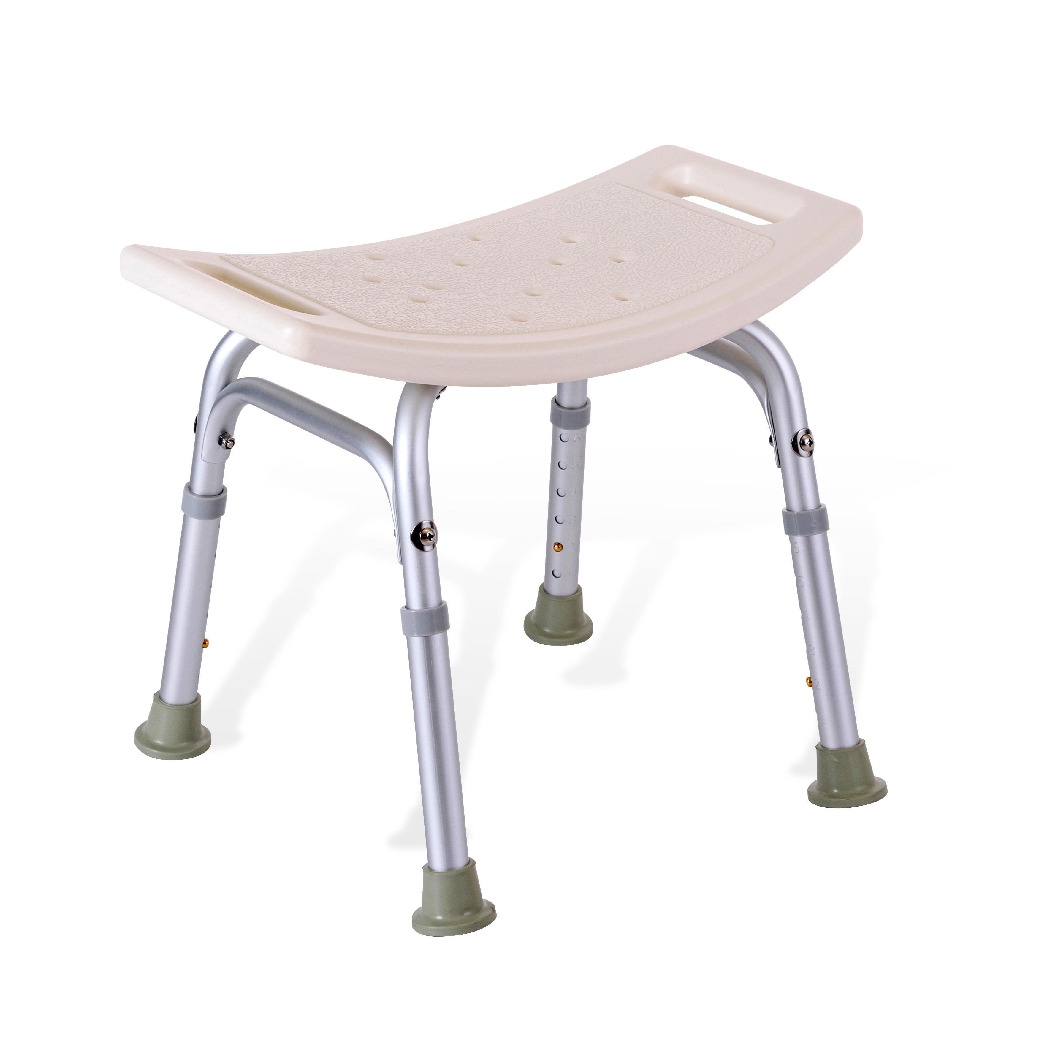 立德稳老人洗澡凳浴室凳子防滑沐浴椅洗澡椅折叠洗浴凳铝合金正品