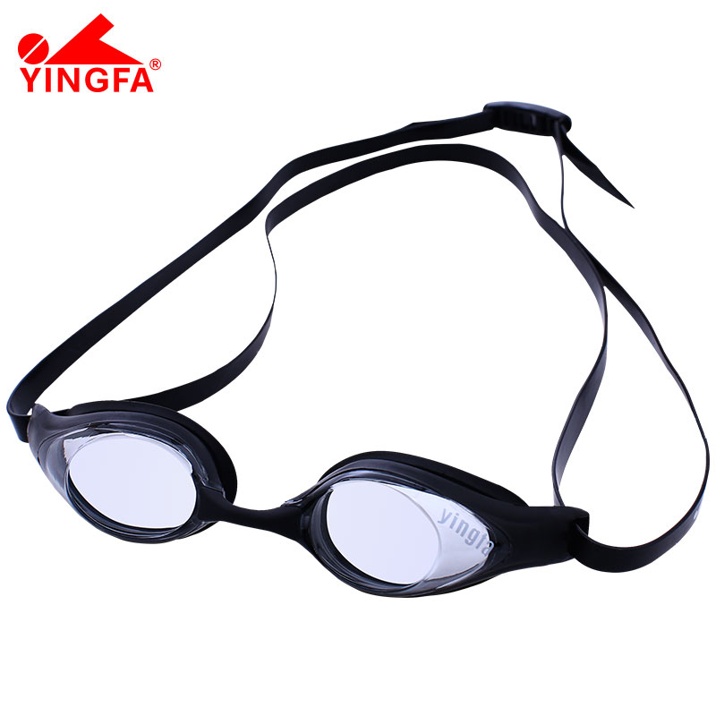 9eed337cf6c2 British hair high-definition waterproof anti-fog goggles men and women  swimming glasses small frame competition soft and comfortable fit swimming  goggles