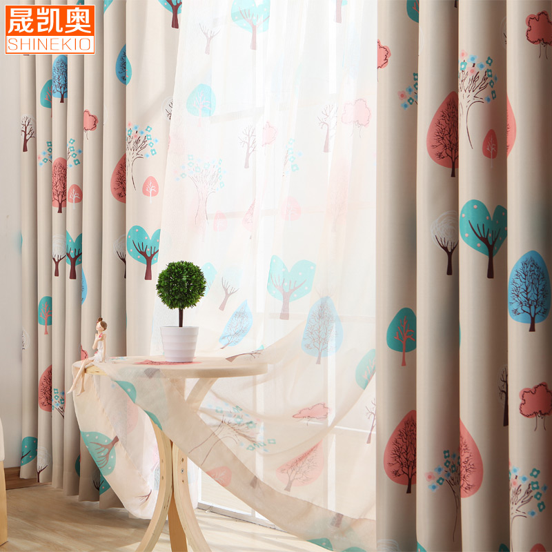特价窗帘成品处理清仓 样品窗帘 客厅卧室飘窗出租房二等品窗帘