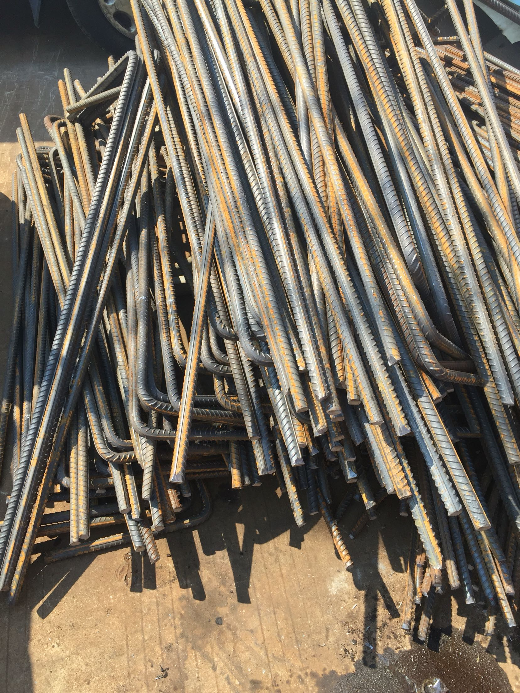 Stirrup processing round steel rebar bending Construction Steel 4 6 8 10 12  14 16 processing by size