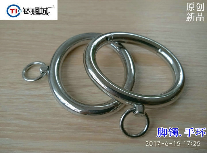 abc651d3fa9e4 Titanium Steel City R Influx Equipment New Small Ring Stainless ...