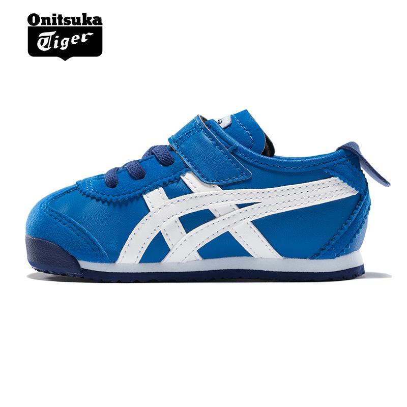 premium selection 0919e 6e89c Onitsuka Tiger Onizuka Tiger sports casual shoes children's shoes MEXICO 66  TS C6B5Y-4501