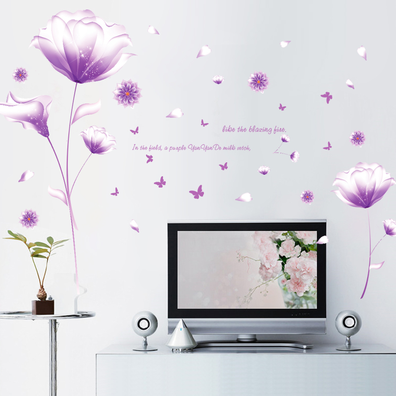 Usd 673 Wheat Can Be Removed Living Room Bedroom Tv Wall Stickers