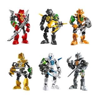 得高hero3.0代 积木玩具得高英雄工厂儿童拼装合体华光9601-9606