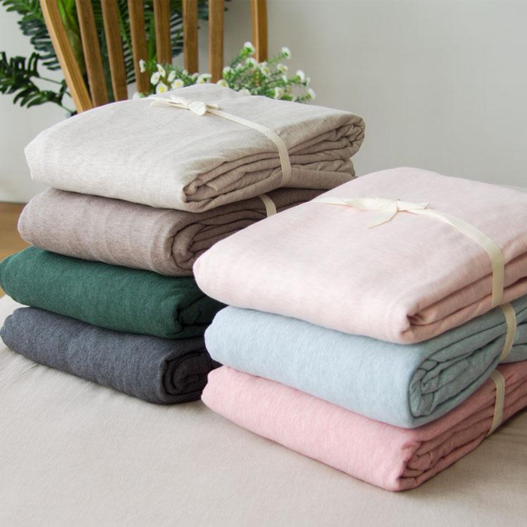 Небольшой хорошо домой вязание хлопок кровать предприятия один день Zhu чистый хлопок цвет хлопок мягкий лист двойной японский весна постельные принадлежности