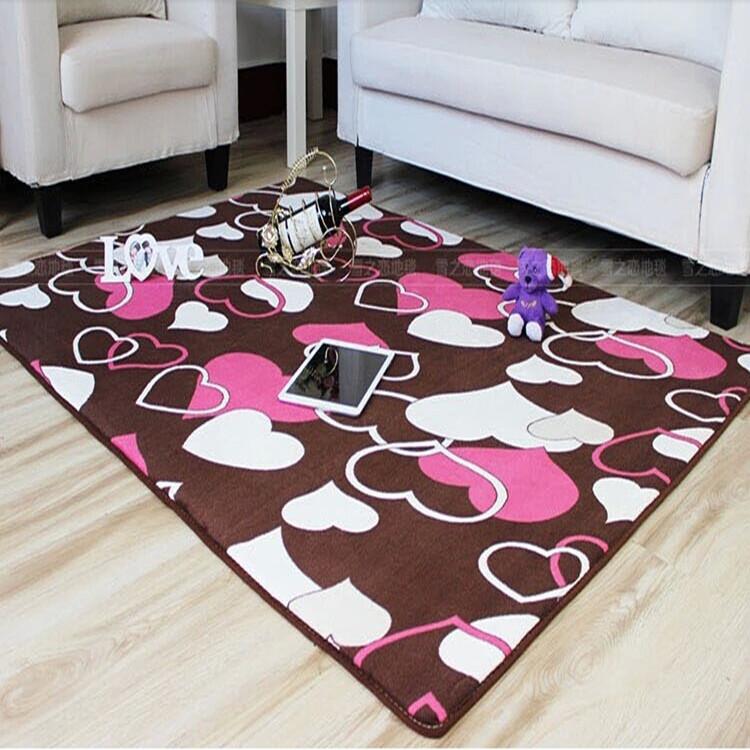 茶几不掉毛不防滑地垫卧室地毯特价床边客厅飘窗地毯定做起球包邮