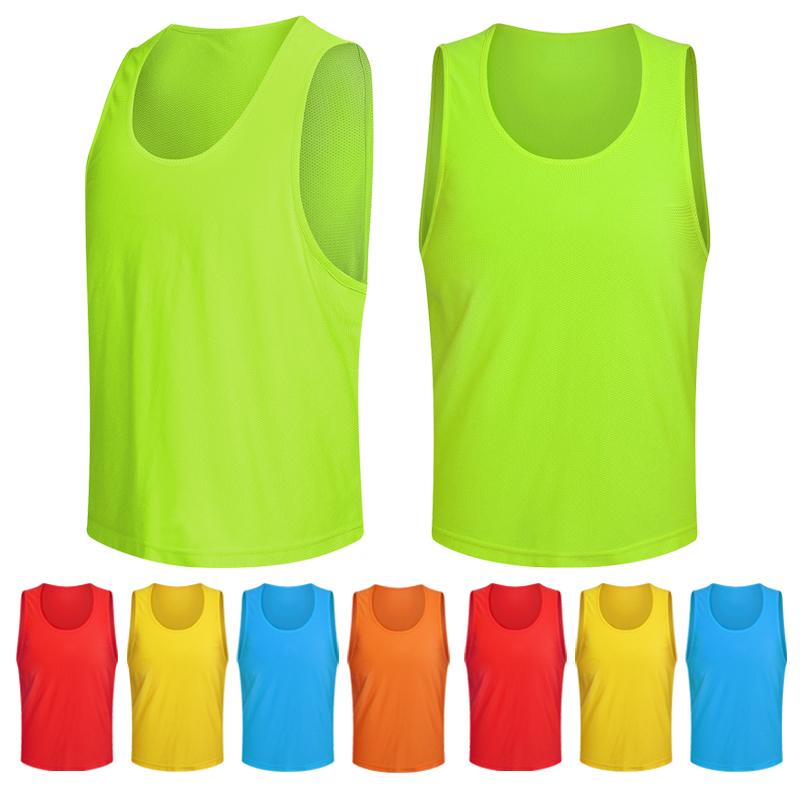 Баскетбол футбол обучение жилет сделанный на заказ филиал команда одежда филиал группа сетка для анти одежда на открытом воздухе расширять жилет количество жилет