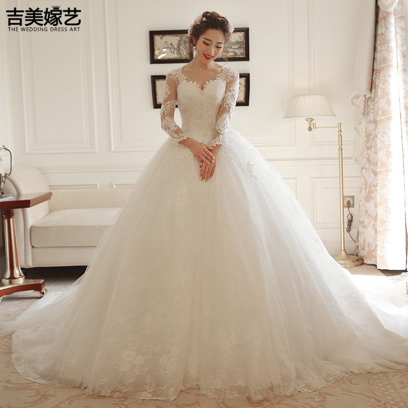 de7ad063a4 USD 238.52  Kyrgyzstan and the United States married wedding dress ...