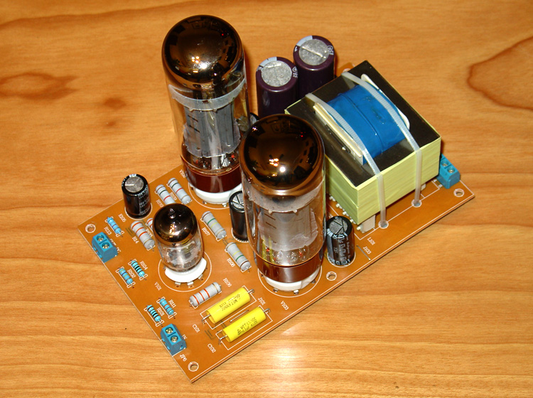 6N4 or 12AX7+EL34 push-pull tube tube amplifier pure final stage power  amplifier board