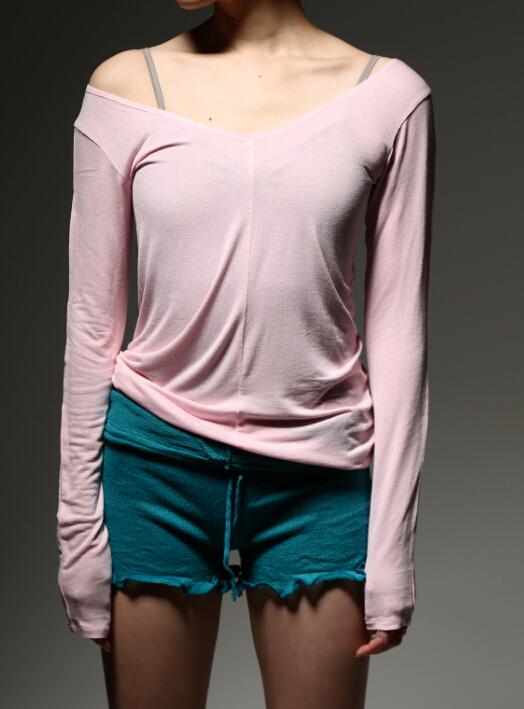 Sansha法国三沙芭蕾舞蹈服装练功服针织保暖上衣成人舞蹈毛衣女