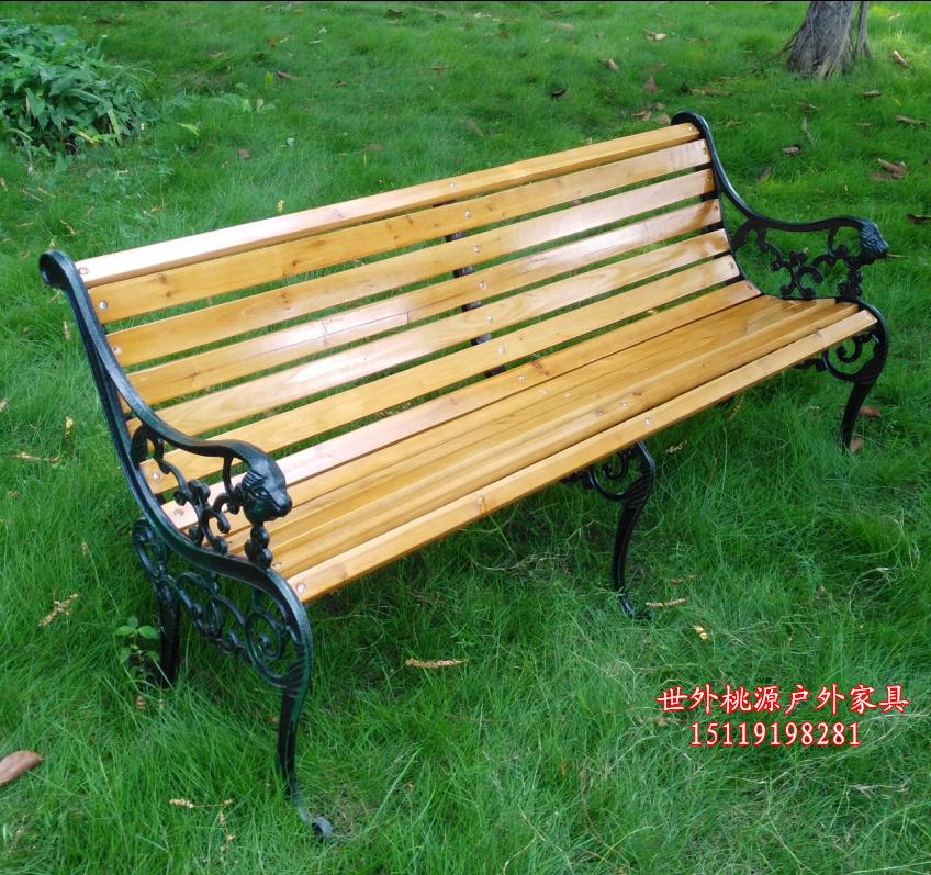 限时促销户外公园椅 长椅 公园休闲椅 休闲长条椅 防腐木公园座椅
