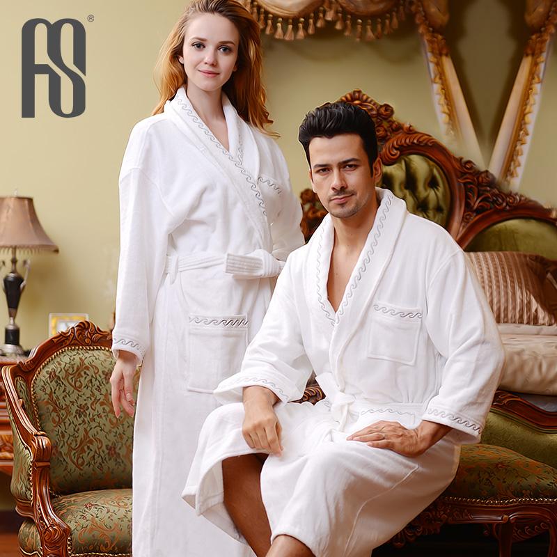 冬季女士法兰绒夹棉袄睡袍三层加厚珊瑚绒加肥家居服睡衣保暖浴袍