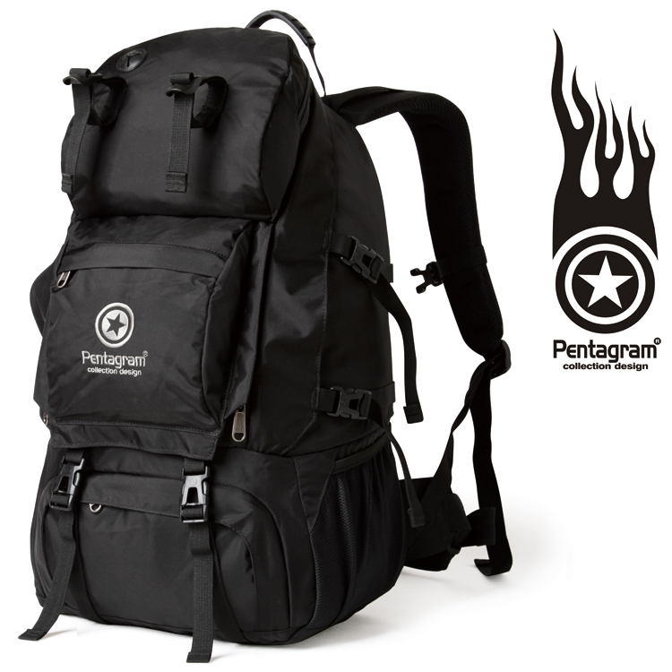 6069102a276a Promotional Pentagram pentagram outdoor hiking computer backpack 40L  shoulder Travel Hiking Bag D201