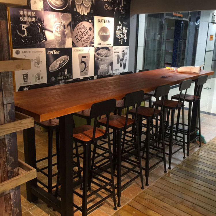 Usd starbucks tables and chairs casual tall table for Petite table industrielle