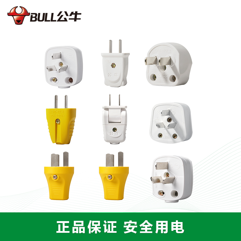The Bull Plug Two Three Pin 3 Air 10a 16a 2 Wire Power And Socket