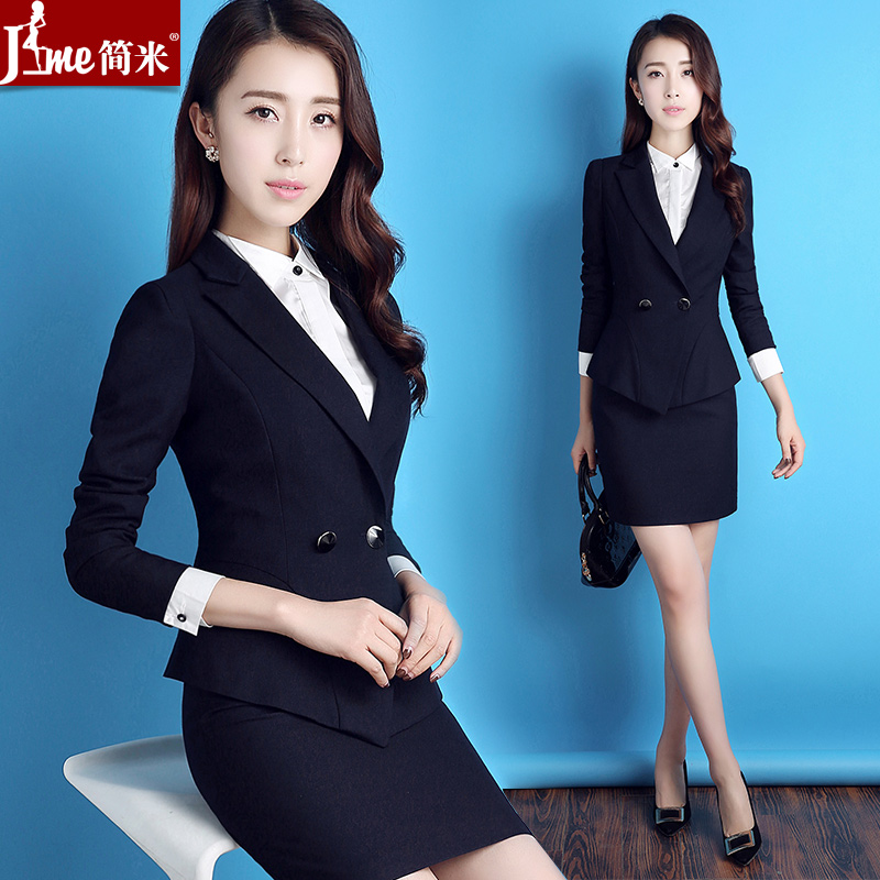 Spring And Autumn Wear Professional Wear Women S Suits College