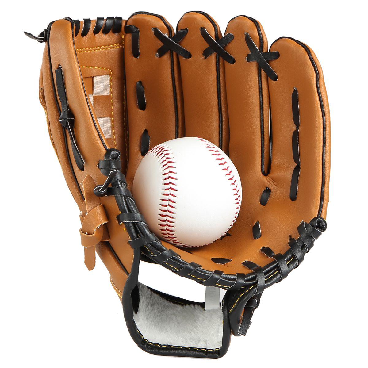 Бесплатная доставка по китаю в подарок бейсбол утепленный Бейсбол Infield pitcher перчатки софтбол перчатки детские Несовершеннолетний взрослый полностью стиль