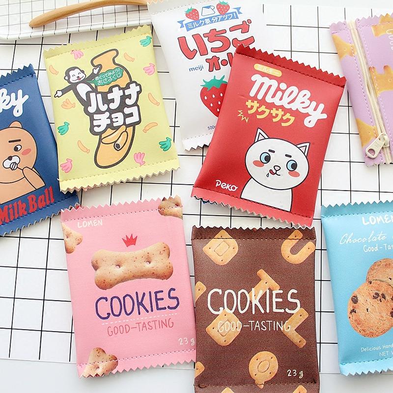 catshow创意糖果饼干趣味水果零食袋造型零钱包硬币包随身小包袋