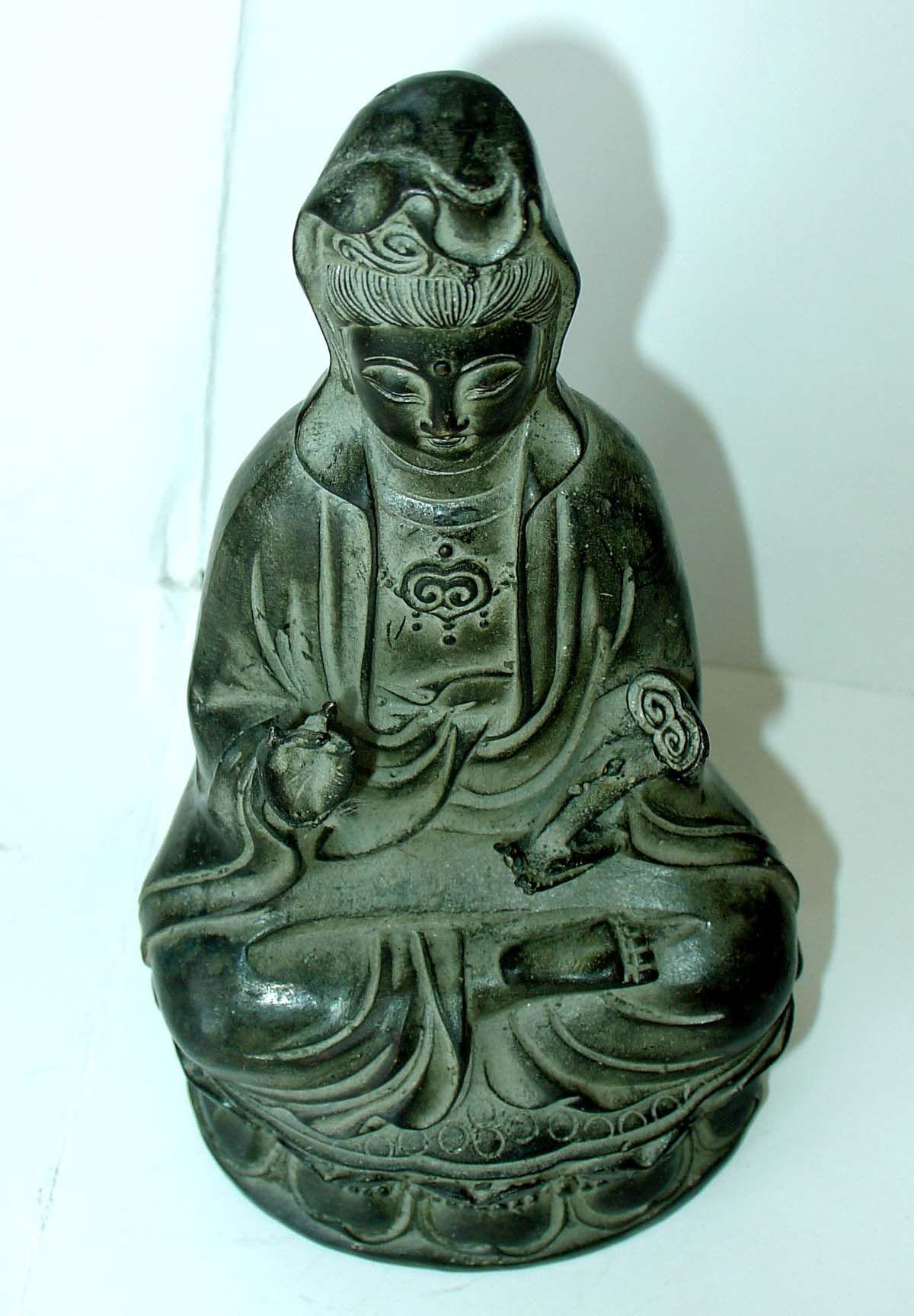明代 古董古玩收藏品农村老物件 老铜佛坐像老货收藏 杂项老铜器