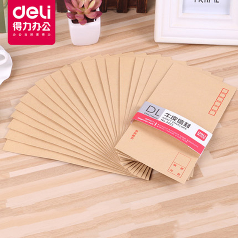 usd 8 07 deli kraft paper envelope international envelope large