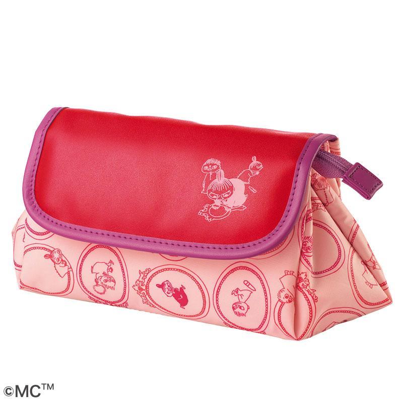 [现货]orbis - 4月限量发售 moomin化妆包 粉色刷包 新款大包